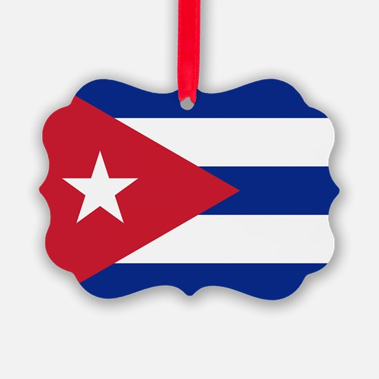 Flag of Cuba Ornament
