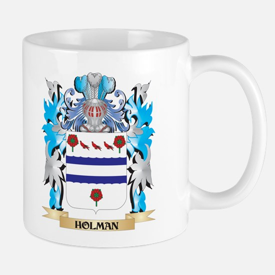 Holman Coat of Arms - Family Crest Mugs