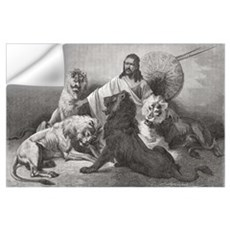 Tewodros Surrounded By Lions. From El Mundo En La  Wall Decal