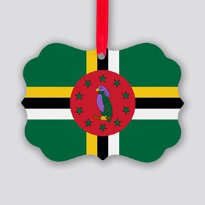 Flag of Dominica Ornament