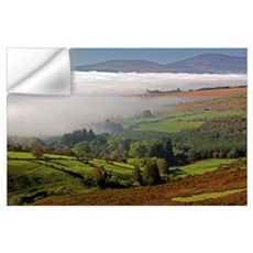 Nire Valley Landscape; Clonmel, County Tipperary,  Wall Decal