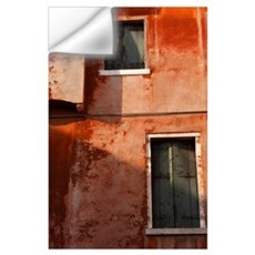 Decayed Facade Of A Building; Venice, Veneto, Ital Wall Decal
