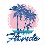 Florida Square Car Magnet 3