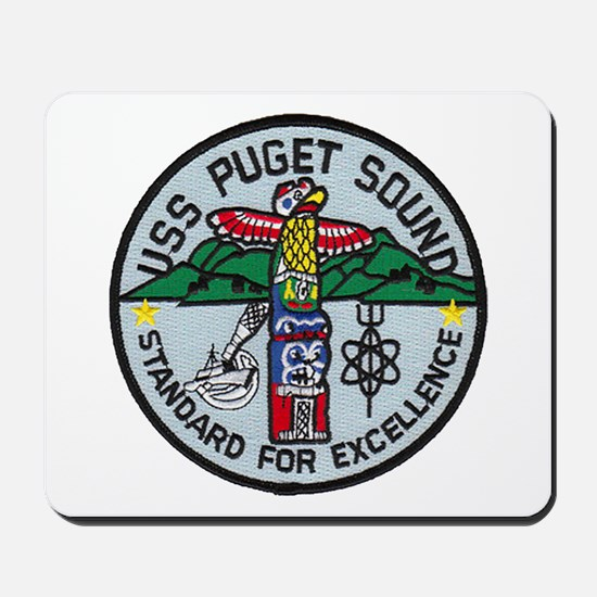 USS PUGET SOUND Mousepad