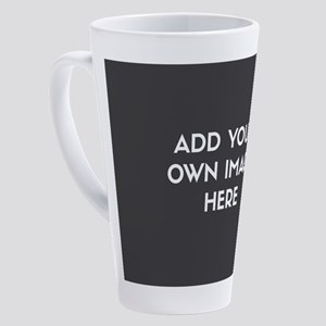 Add Your Own Image 17 oz Latte Mug