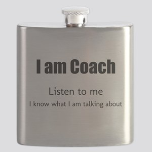 I am coach Flask