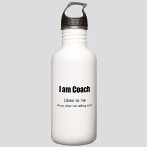I am coach Sports Water Bottle