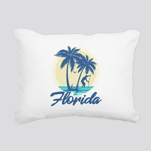 Florida Rectangular Canvas Pillow