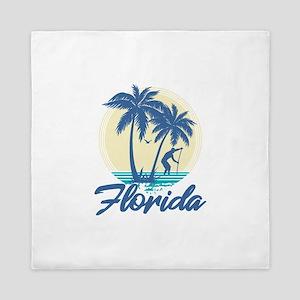 Florida Queen Duvet