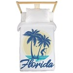 Florida Twin Duvet Cover