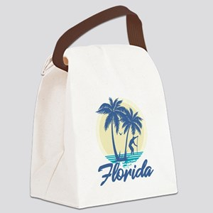 Florida Canvas Lunch Bag