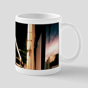 Swirls in dark 35mm analog film photo Mugs