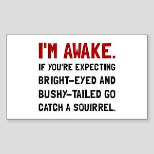 Go Catch Squirrel Sticker