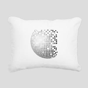 DISCO BALL Rectangular Canvas Pillow