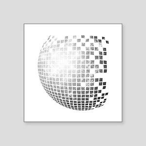 """DISCO BALL Square Sticker 3"""" x 3"""""""