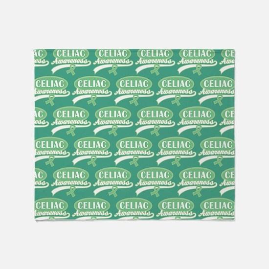 Sherbet Polka Dots Throw Blanket