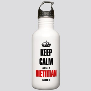 Keep calm and let a Di Stainless Water Bottle 1.0L