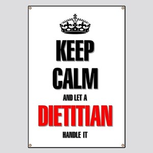 Keep calm and let a Dietitian handle it Banner