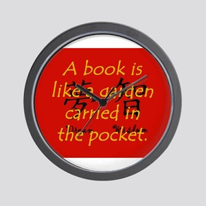 A Book Is Like A Garden Carried In The Pocket Wall