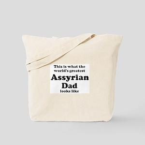 Assyrian dad looks like Tote Bag