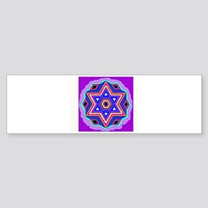 Jewish Star of David. Bumper Sticker