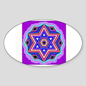 Jewish Star of David. Sticker