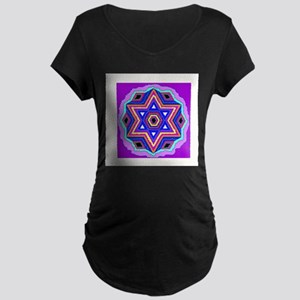 Jewish Star of David. Maternity T-Shirt
