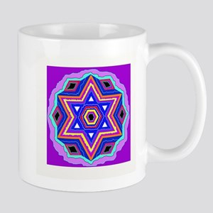 Jewish Star of David. Mugs
