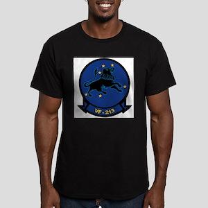 F-14 Tomcat VF-213 Black Lion Ash Grey T-Shirt
