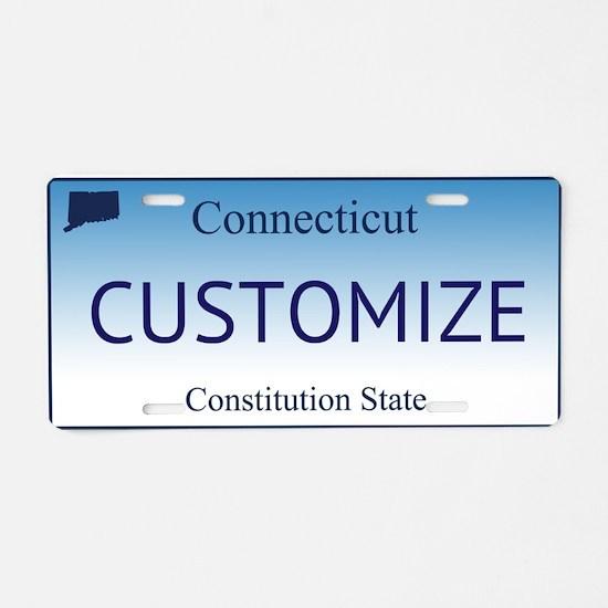 Connecticut Custom Aluminum License Plate