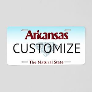 Arkansas Custom Aluminum License Plate