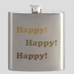 Happy! Happy! Happy! Flask