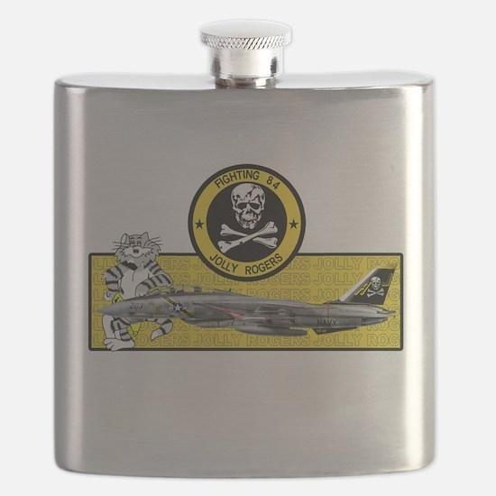 Cute Navy aircraft Flask