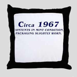 CIRCA 1967 Throw Pillow