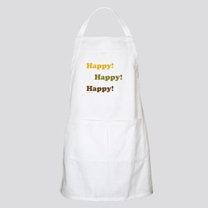 Happy! Happy! Happy! Apron