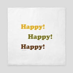 Happy! Happy! Happy! Queen Duvet
