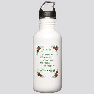 Christmas Math Stainless Water Bottle 1.0L