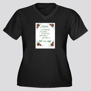 Christmas Math Plus Size T-Shirt