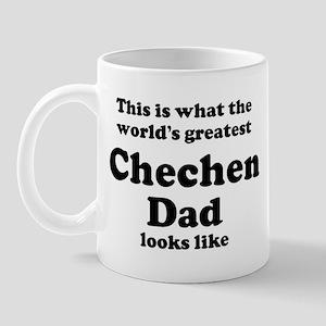 Chechen dad looks like Mug