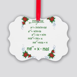 Christmas Math Ornament