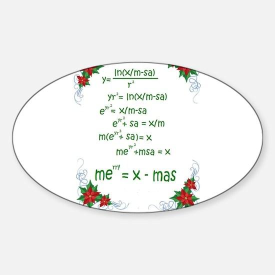 Christmas Math Decal