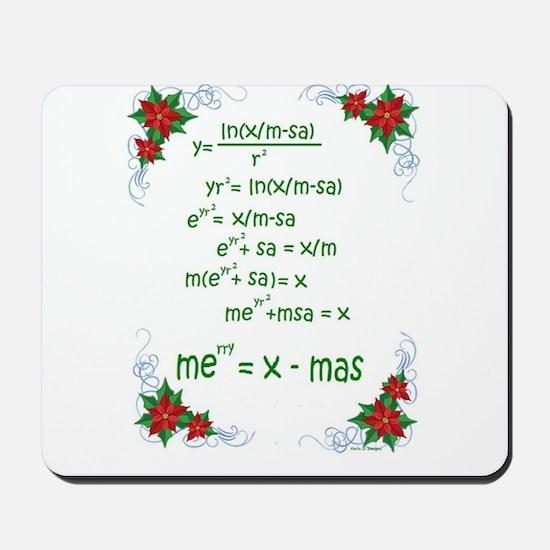 Christmas Math Mousepad