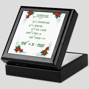 Christmas Math Keepsake Box