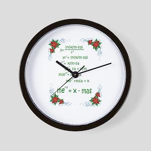 Christmas Math Wall Clock