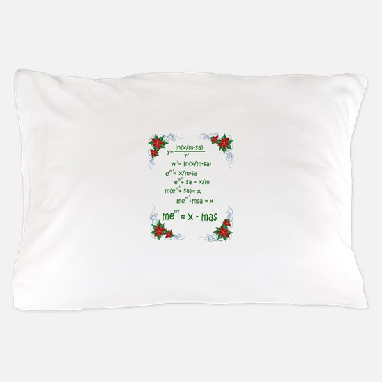 Christmas Math Pillow Case