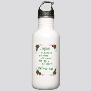 Christmas Math Water Bottle