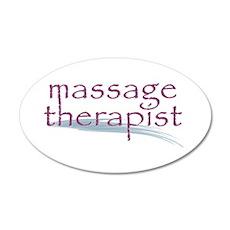 Massage Therapist Wall Decal