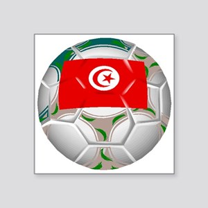 Tunisia Soccer Ball Sticker