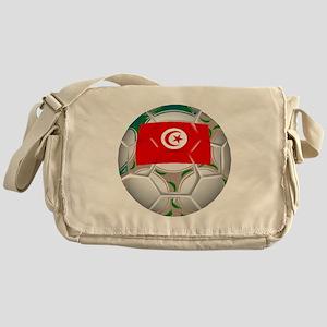Tunisia Soccer Ball Messenger Bag