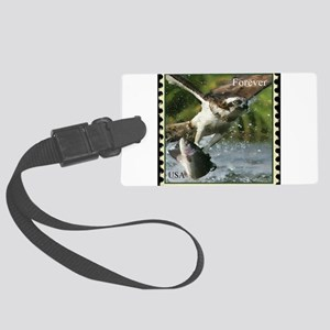 Falcon and Fish Luggage Tag